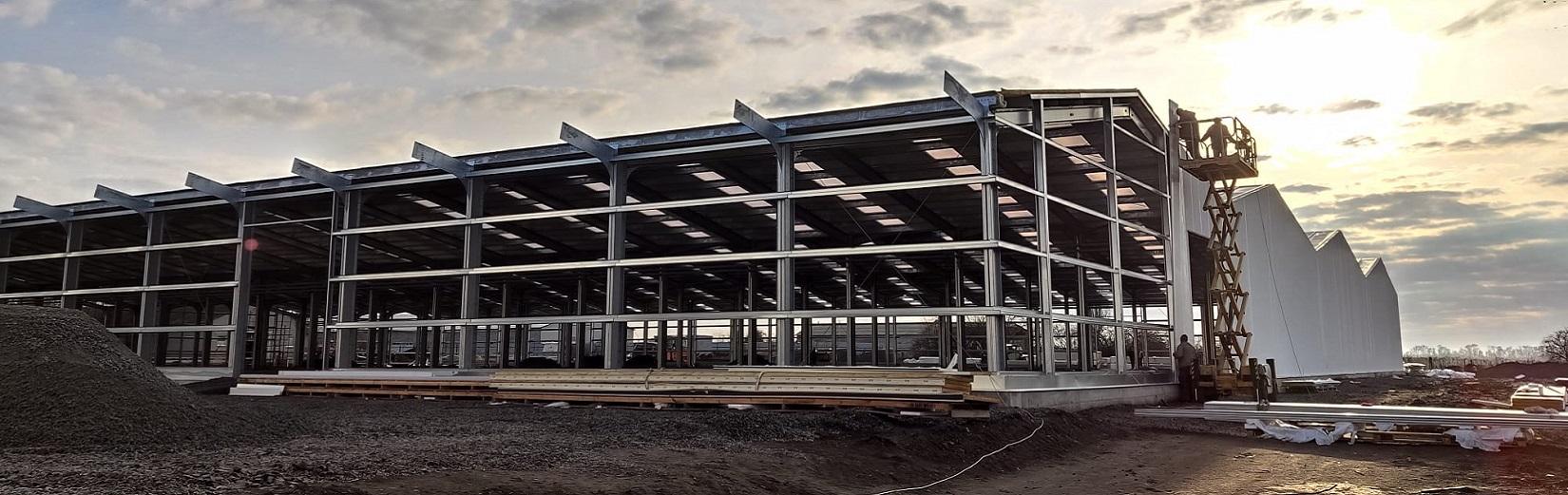 Bâtiments modulaires avec la versatilité des bâtiments sur mesure ou des hangars industriels conventionnels