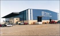 Nave industrial metálica 3000 m2 Zaragoza