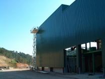 Planta tratamiento residuos industrial 3500 m2 Tivissa (Tarragona)