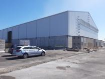 Nave industrial metálica. 4.500m2 Gijón (Asturias)