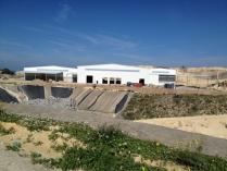 Edificios industriales en planta tratamiento residuos 10.500m2 Malta