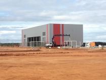 Nave industrial prefabricada. 1000m2 Anzoátegui (Venezuela)