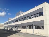 Edificio oficinas y laboratorios Campus Río Ebro. Universidad de Zaragoza