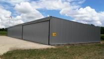 Hangar industrial prefabricado. 450m2 Illats (Francia)
