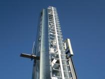 Torre metálica. Polígono Industrial Puerta Norte (Zaragoza)