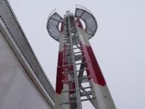Torre metálica con pararrayos (Zaragoza)