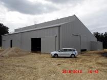 Charpente photovoltaïque agricole. Poitiers 86 (France)
