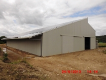 Hangar fotovoltaico