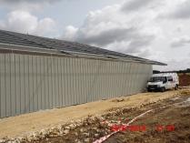 Hangar fotovoltaico. Chauvigny (Francia)