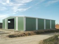 Nave prefabricada ECORAPID almacén agrícola. Villanueva de Alcardete (Toledo)