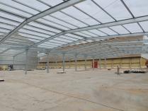 Nave modular para complejo agrícola ECORAPID 2100m2. Asunción (Paraguay)