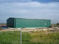 Nave agrícola prefabricada desmontable ECORAPID. 300 m2 en Lérida