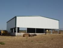 Almacén agrícola prefabricado ECORAPID 400m2. Linares (Jaén)