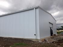 Almacen agrícola modular metalico ECORAPID 900m2. Malabo (Guinea Ecuatorial)