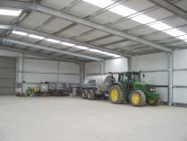 Nave modular almacén agrícola ECORAPID. 1500 m2 Montañana (Zaragoza)