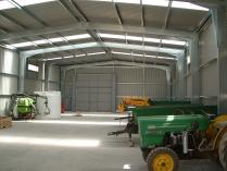 Nave prefabricada almacén agrícola ECORAPID. 375 m2 Torreblanca-Benicasim (Castellón).