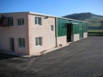 Nave almacén agrícola desmontable (reubicable) ECORAPID 810m2. Renedo (Cantabria)