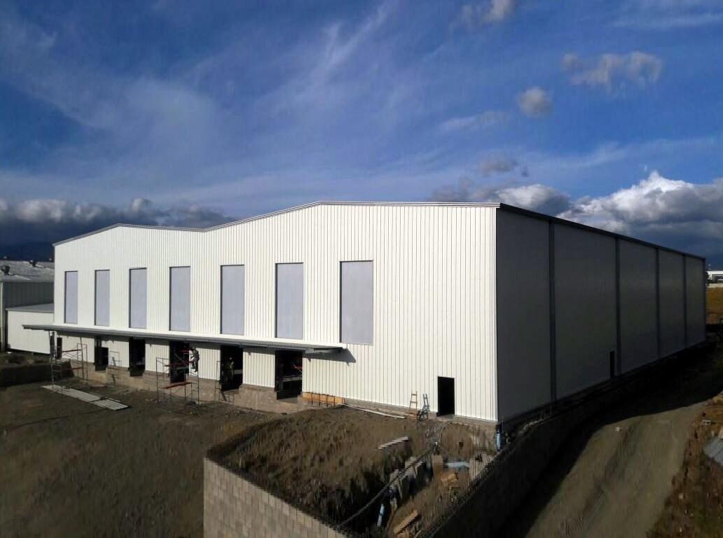 Bâtiments industriels modulaires
