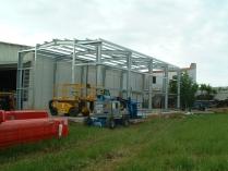 Entrepôt métallique préfabriqué 200m2 Albacete