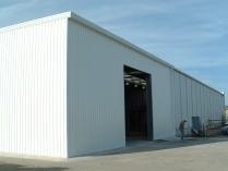 Entrepôt métallique préfabriqué 225m2 Arganda del Rey (Madrid)