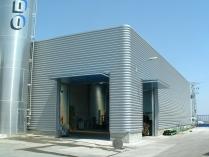 Bâtiment démontable d'acier 2500m2 Borja (Zaragoza)