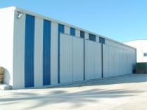 Dépôt métallique en kit 500m2 Callosa de Segura (Alicante)
