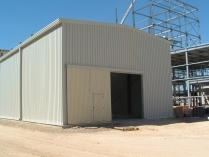 Atelier démontable d'acier 180m2 Cartagena (Murcia)