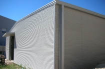 Almacén de maquinaria. 400m2 Cuarte (Zaragoza). Chapa minionda