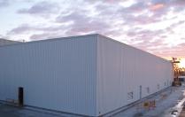 Hangar industriel modulaire 1000m2 Guardamar del Segura (Alicante)