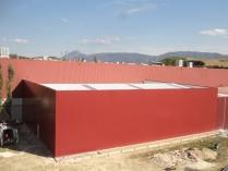 Ampliación factoría industrial 700m2 Pamplona (Navarra)