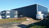 Nave industrial prefabricada. 650m2 Saint-Jean-Kourtzerode (Francia)