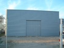 Bâtiment démontable d'acier 450m2 Seseña (Toledo)