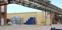 Almacén metalico desmontable ECORAPID. 800m2 Tarragona