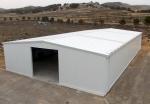 Nave metálica modular ECORAPID.  - 375m2 Teruel