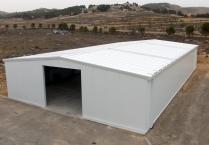 Nave metálica modular. 375m2 Teruel