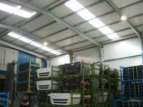 Nave modular prefabricada ECORAPID. 350m2 Tudela (Navarra)
