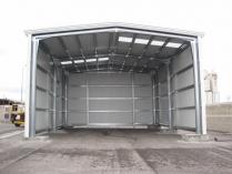 Almacén modular urgente ECORAPID. 125 m2 Vicálvaro (Madrid)