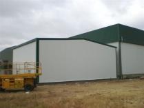 Nave modular ECORAPID prefabricada. 150m2 Villalpando (Zamora)