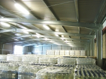 Nave modular prefabricado ECORAPID. 800m2 en Zaragoza