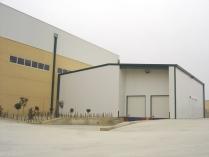 Nave modular ECORAPID con muelles carga. 380m2 Zuera (Zaragoza)