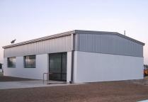 Gimnasio modular nave ECORAPID en Mahón (Menorca). 150 m2