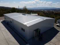 Nave industrial modular ECORAPID. 336m2 Olesa de Montserrat (Barcelona)