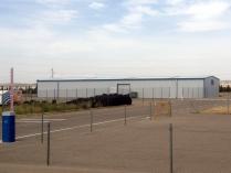 Nave modular prefabricada ECORAPID en Zuera (Zaragoza). 500 m2
