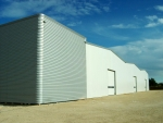 Estructura prefabricada 100% desmontable ECORAPID - Promoción de naves industriales