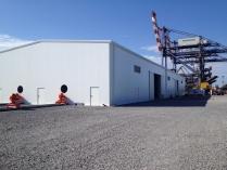 Nave modular metálica complejo industrial ECORAPID 1300m2. Burgas (Bulgaria)