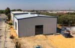 Nave metálica modular ECORAPID - 200m2 Carmona (Sevilla)