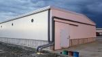 Nave metálica modular ECORAPID.  - 760m2 Buenaventura (Colombia)