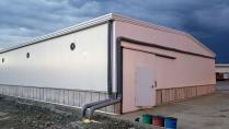 Nave metálica modular. 760m2 Buenaventura (Colombia)