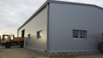 Nave industrial prefabricada. 320m2 La Chapelle-Achard (Francia)