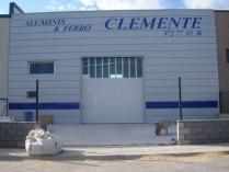 Nave modular prefabricada ECORAPID. Taller de carpintería en L'Escala (Gerona). 400 m2